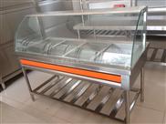 厂家直销爱帮厨厨房设备豪华带罩五格保温售饭台