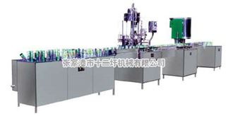 1500-2400罐/小時不含氣易拉罐生產線