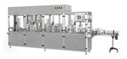 QGF-3全自动酸奶灌装封口机 新华机械果汁灌装封口机