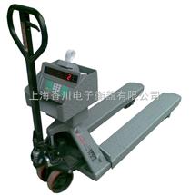 DCS-XC-F帶打印叉車秤,2噸叉車秤,電子叉車稱