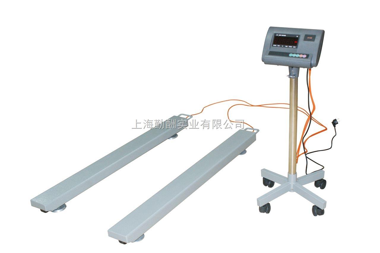 SCS-2T条形电子地磅秤 2吨条形磅秤