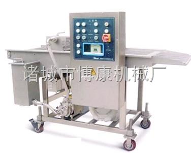 博康机械供应鱼虾海产品裹浆机、裹粉机