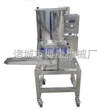 供应土豆饼、蔬菜饼成型机、新型立式全自动成型机