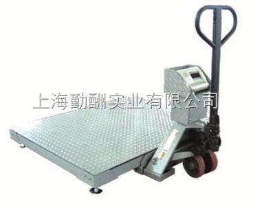 带叉车移动地磅 液压移动地磅 搬运移动平台秤