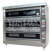 优思龙三层九盘经济款大玻璃燃气层炉 烤炉烤箱焗炉 面包烘焙机CB-Q309
