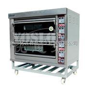 优思龙二层四盘经济款大玻璃燃气层炉 烤炉烤箱焗炉 面包烘焙机CB-Q204