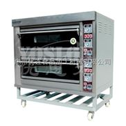 优思龙二层四盘经济款大玻璃电层炉 烤炉烤箱焗炉 面包烘焙机CB-D204