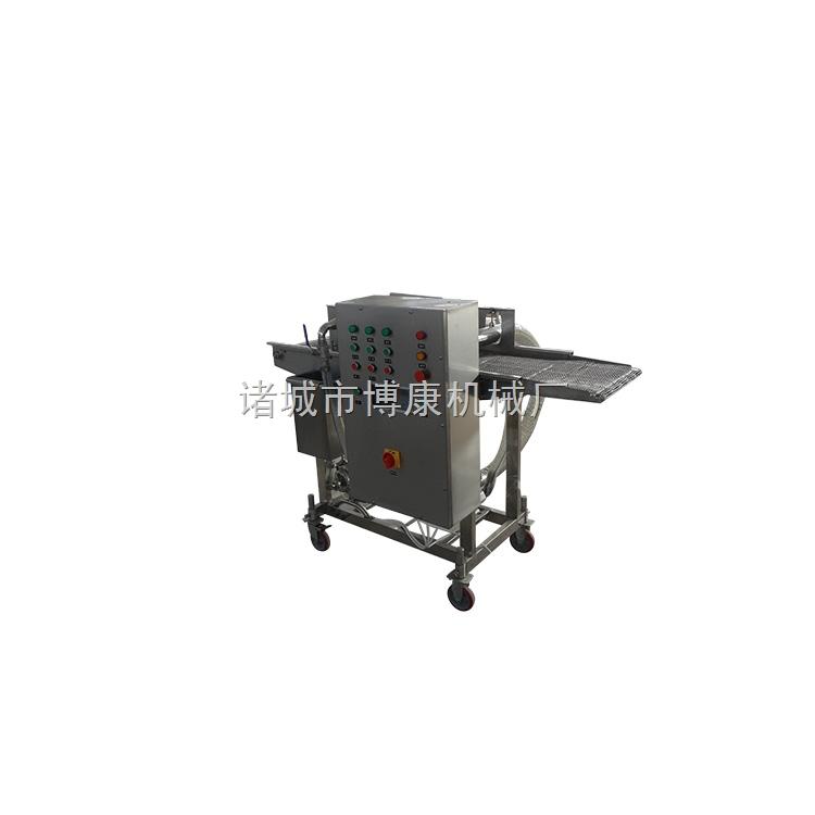 精品香辣鱼排裹浆机、裹粉机