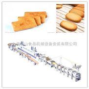 中小型餅干自動化生產線,日產2~5噸