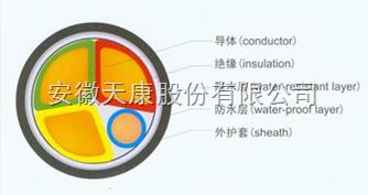 ZS-FS-YJY23-3*70+1*35防水电力电缆