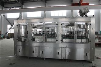 GCF玻璃瓶铝质盖灌装生产线