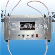 小型台式双头液体灌装机