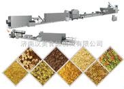 早餐谷物片粥生产线 早餐谷物膨化机