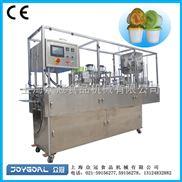 眾冠酸奶灌裝封口機/黃桃杯灌裝機