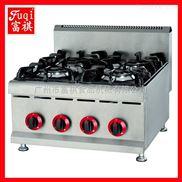 【广州富祺】GH-587台式燃气煲仔炉 4头煲仔炉 商用煲仔炉 优质供应商