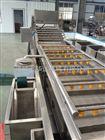 厂家供应气泡喷淋清洗机 毛豆清洗流水线设备