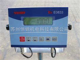 E0833E0833防爆仪表,浙江/山东/青岛现货供应e0833本安型电子秤仪表