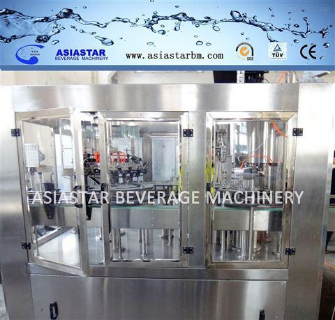高瓶灌装机果蔬饮料灌装线 玻璃瓶灌装生产线液体食品包装机饮料包装机BBR-2169