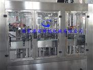 BBR-788-厂家直供 含气饮料生产线 三合一灌装机组  含气酒灌装24头 BBR-788