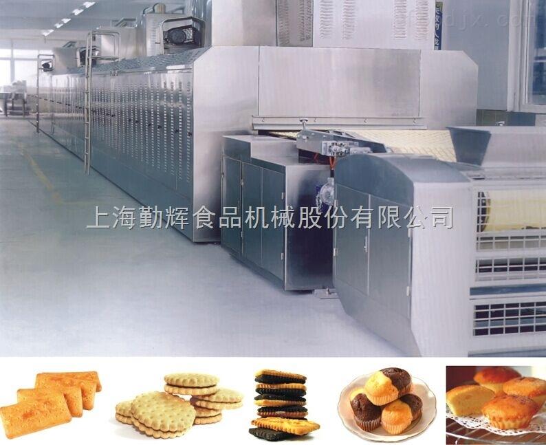 QH系列硬性餅干天然氣隧道烤爐