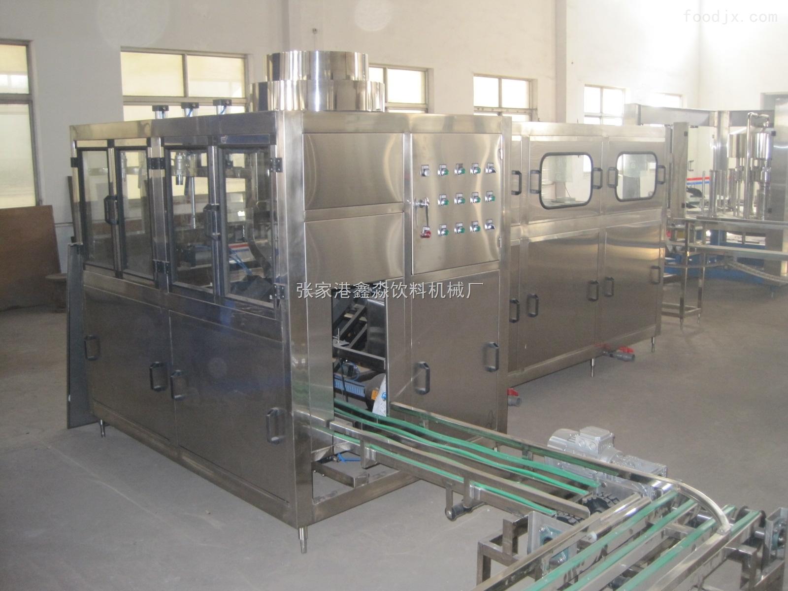 qgf-300型-300桶桶装水灌装机-张家港鑫淼饮料机械厂