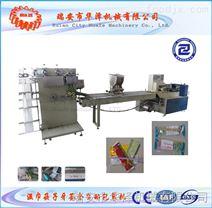 厂家直销四件套筷子纸巾勺子牙签伺服包装机