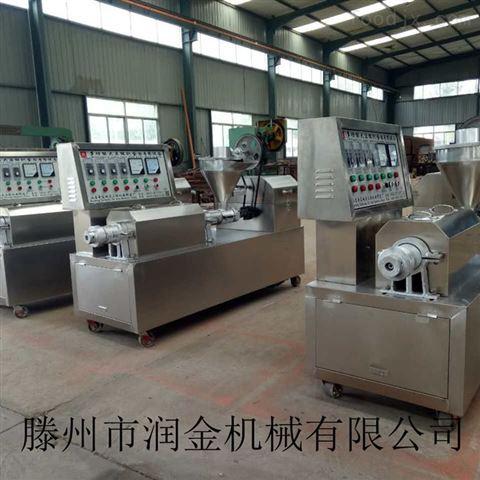润金机械专业生产电加热式牛排机 自动控温全不锈钢豆皮机