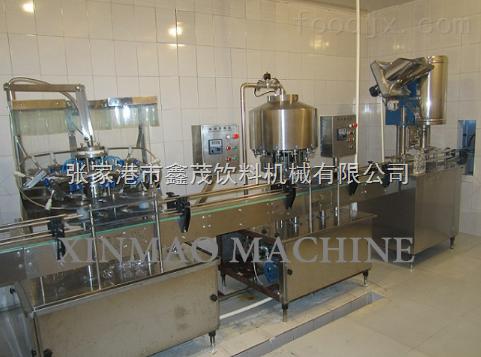 分體式飲料灌裝生產線