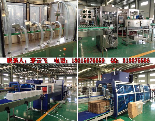 瓶装纯净水生产线生产工艺流程