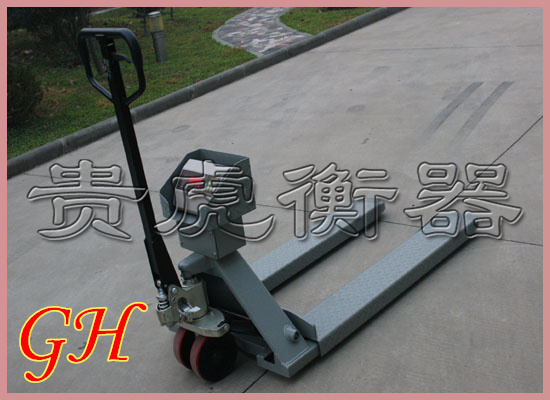 电子叉车秤1吨,液压叉车电子称2吨