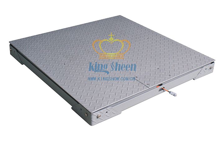 0.5T双层碳钢电子磅秤