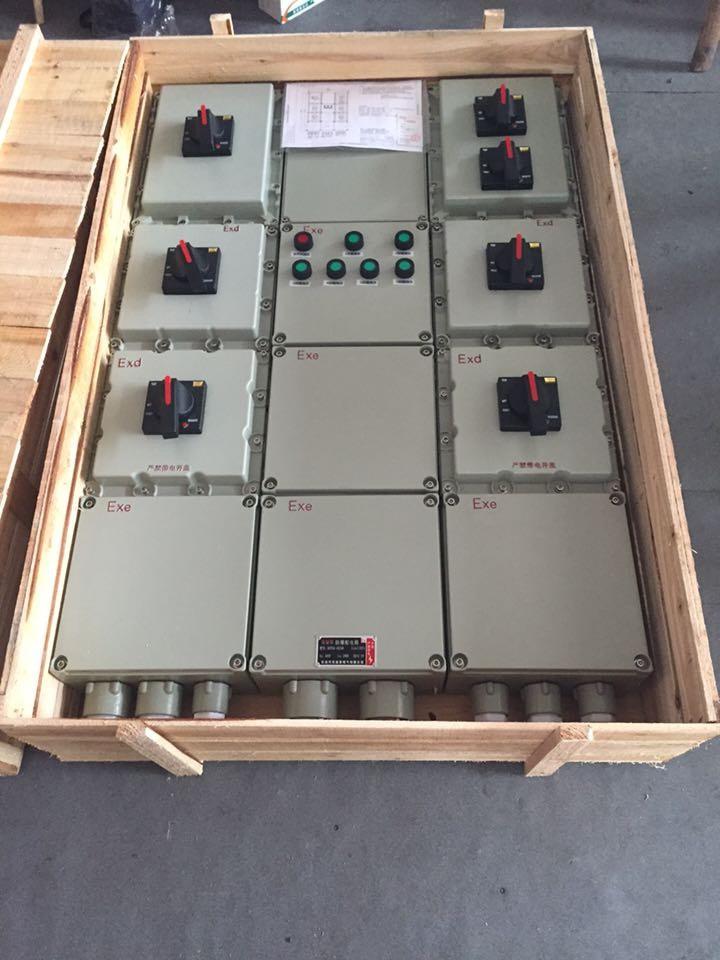 bxd51 防爆动力配电箱bep56/bxd51挂式下进下出线