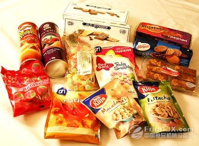 休闲食品成消费新宠 加工包装设备助力发展